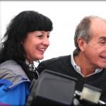 Porcar con Silvia González