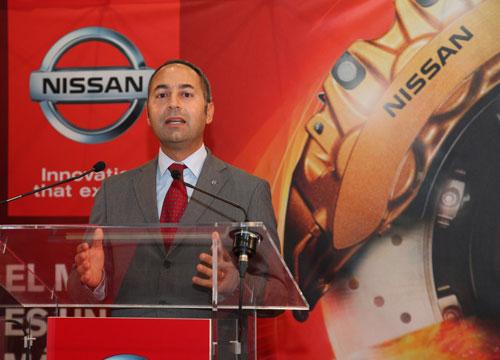 Marco Toro, consejero director general de Nissan España.