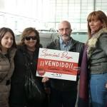 De Izda a dcha Silvia (hija), Consuelo, Andrés y Fel