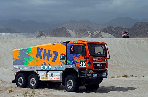 Jordi-Juvanteny-y-José-Luis-Criado-Dakar2016_E11_Camion_KH7_1
