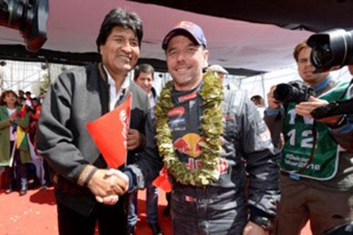 Sébastien-LOEB-et-Evo-MORALES,-Président-de-Bolivie