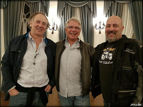 José Emilio Agote, Iñigo Zabaleta y Mc Bauman