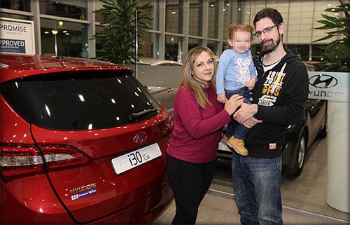 Jorge y su mujer buscaban un coche familiar. Eligieron el i30 CW