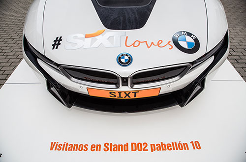 Sixt-BMW-i8